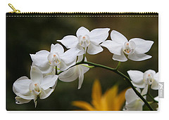 Orchids Carry-all Pouch by John Freidenberg