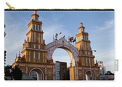 2013 Gateway To Feria De La Seville Carry-all Pouch by Lorraine Devon Wilke