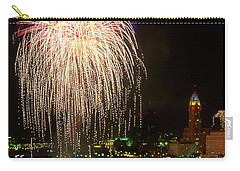 21l106 Red White And Boom Fireworks Photo Carry-all Pouch