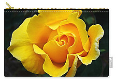 Carry-all Pouch featuring the photograph 24 Karat by Nick Kloepping