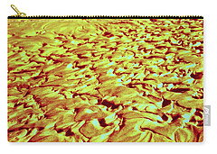 Carry-all Pouch featuring the photograph 24 Kt Gold Ripples by Nick Kloepping