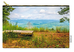 Carry-all Pouch featuring the photograph Scenery Around Lake Jocasse Gorge by Alex Grichenko