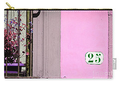 25 In Pink Window Carry-all Pouch by Valerie Reeves