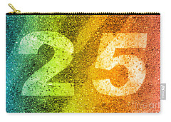 25 Rainbow Carry-all Pouch by Valerie Reeves