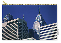 Low Angle View Of Skyscrapers Carry-all Pouch