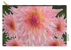 Abstract Flower Floral Photography And Digital Painting Combination Mixed Media By Navinjoshi       Carry-all Pouch