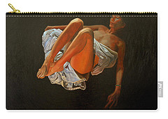 Carry-all Pouch featuring the painting 3 30 Am by Thu Nguyen