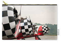 Carry-all Pouch featuring the photograph Airplanes At The Airshow by Alex Grichenko