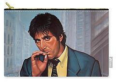 Al Pacino 2 Carry-all Pouch by Paul Meijering