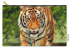 Amur Tiger Painting Carry-all Pouch