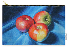 3 Apples Carry-all Pouch