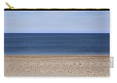Color Bars Beach Scene Carry-all Pouch
