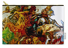 Battle Of Grunwald Carry-all Pouch by Henryk Gorecki
