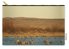 Birds In Bosque Carry-all Pouch