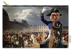 Brussels Griffon - Belgium Griffon Art Canvas Print Carry-all Pouch by Sandra Sij