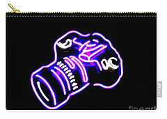 Camera Edited Carry-all Pouch by Kelly Awad