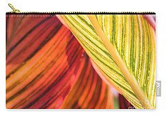 Canna Lily Named Durban Carry-all Pouch by J McCombie
