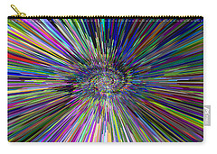3 D Dimensional Art Abstract Carry-all Pouch