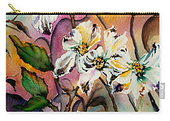 Dance Of The Dogwoods Carry-all Pouch by Lil Taylor