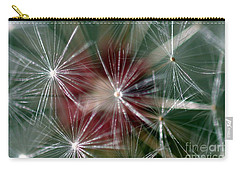 Carry-all Pouch featuring the photograph Dandelion Seed Head by Henrik Lehnerer