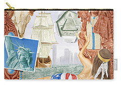 Destruction Of Native America Carry-all Pouch