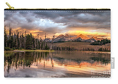 Golden Sunrise Carry-all Pouch by Robert Bales