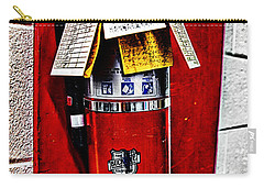 Grungy Fire Extinguisher Carry-all Pouch