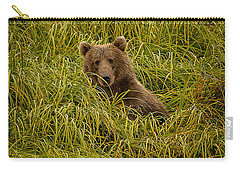 Carry-all Pouch featuring the photograph Hi There by Steven Reed
