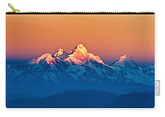 Himalayan Mountains View From Mt. Shivapuri Carry-all Pouch