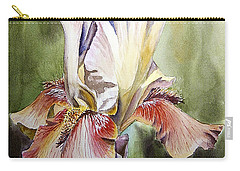 Iris Painting Carry-all Pouch