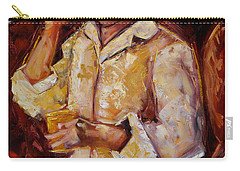 Jibaro De La Costa Carry-all Pouch by Oscar Ortiz