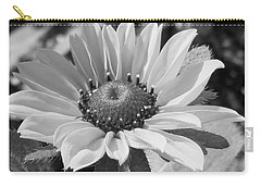 Carry-all Pouch featuring the photograph Just A Flower by Janice Westerberg