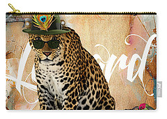 Leopard Collection Carry-all Pouch by Marvin Blaine