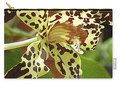 Leopard Orchids Carry-all Pouch