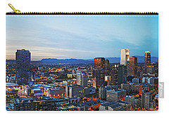 Los Angeles Skyline Carry-all Pouch by Kelley King