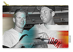 Mickey Mantle Carry-all Pouch by Marvin Blaine