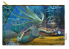 Carry-all Pouch featuring the digital art Of Myths And Legends by Shadowlea Is