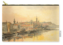 Old Warsaw - Wisla River Carry-all Pouch
