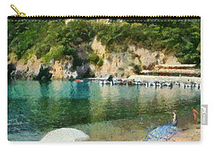 Paleokastritsa Beach Carry-all Pouch
