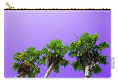 3 Palms Carry-all Pouch by J Anthony