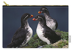 Parakeet Auklet Carry-all Pouch
