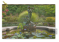 Carry-all Pouch featuring the photograph Park Beauty by Theodore Jones