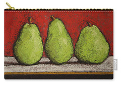 3 Pears Carry-all Pouch