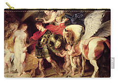 Perseus Liberating Andromeda Carry-all Pouch by Peter Paul Rubens