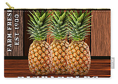 Pineapple Farm Carry-all Pouch by Marvin Blaine
