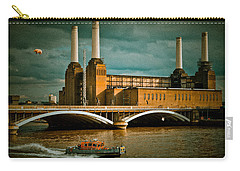 Pink Floyd Pig At Battersea Carry-all Pouch by Dawn OConnor