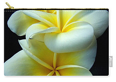 3 Plumerias Carry-all Pouch