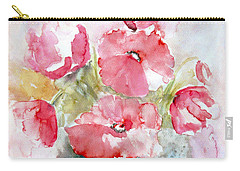 Poppies Carry-all Pouch by Jasna Dragun