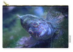 Carry-all Pouch featuring the photograph Redspotted Hawkfish  by Savannah Gibbs