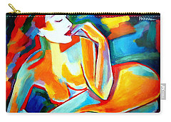 Carry-all Pouch featuring the painting Repose by Helena Wierzbicki